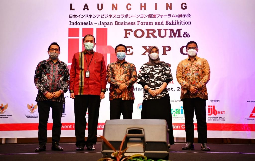 Launching Indonesia Jepang Bussines Forum and Exhibition